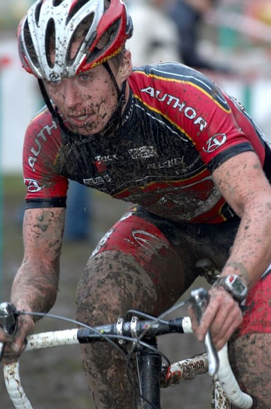 František Klouček - Mistrovství republiky v cyklokrosu 2007, Česká Lípa