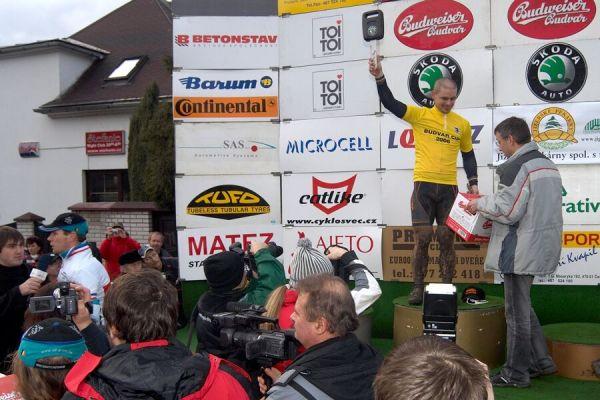 Zdeněk Mlynář celkovým vítězem Budvar Cupu - Mistrovství republiky v cyklokrosu 2007, Česká Lípa