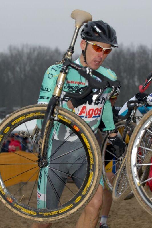 Julien Absolon - Světový pohár v cyklokrosu - Elite -Hofstade (BEL)
