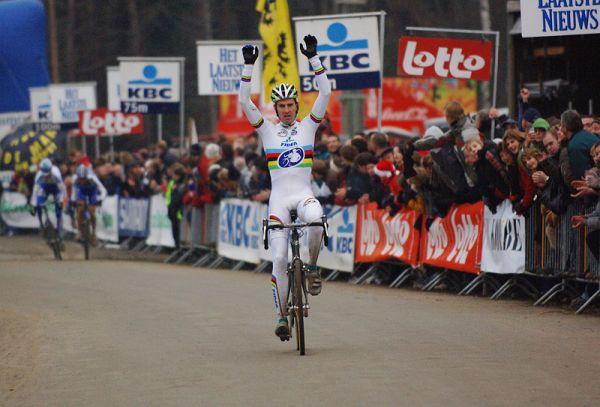 SP cyklokros Hofstade (BEL), 26.12.2006, Erwin Vervecken, foto:Frank Bodenmüller/www.mtbsector.com