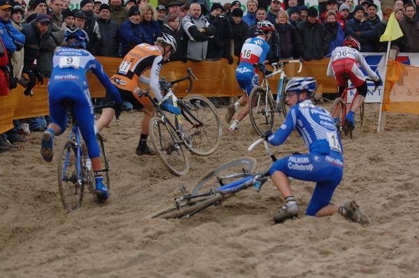 SP cyklokros Hofstade (BEL), 26.12.2006, Radek Šimůnek, foto: Frank Bodenmüller/www.mtbsector.com