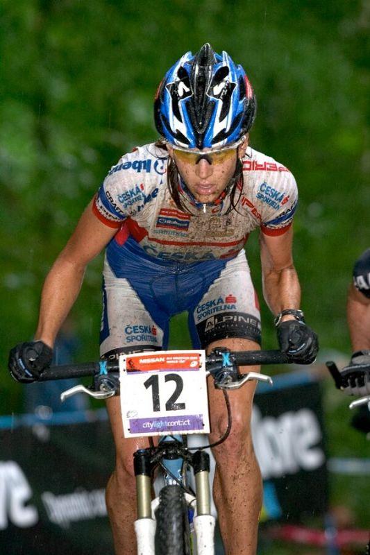 Nissan UCI MTB World Cup XC #2 26.-27.5. 2007 - Tereza Huříková, zde na pátém místě!