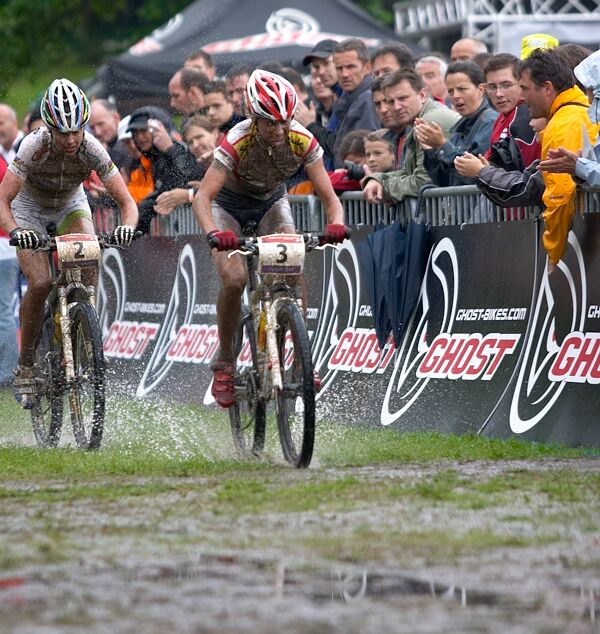 Nissan UCI MTB World Cup XC #2 26.-27.5. 2007 - a třetí Marga se čtvrtou Gunn Ritou