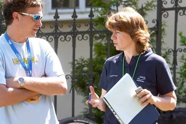 2. závod ČP XC Kutná Hora 19.5. 2007 - mezinárodní rozhodčí Veronika Krejčová