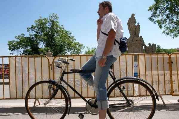2. závod ČP XC Kutná Hora 19.5. 2007 - ředitel závodu Josef Straka