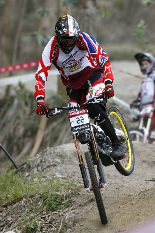 SP DH No.1 Vigo 2007 - Brendan Fairclough