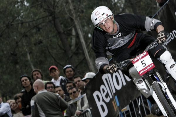 SP 4X No.1 Vigo 2007 Brian Lopes v tréninku