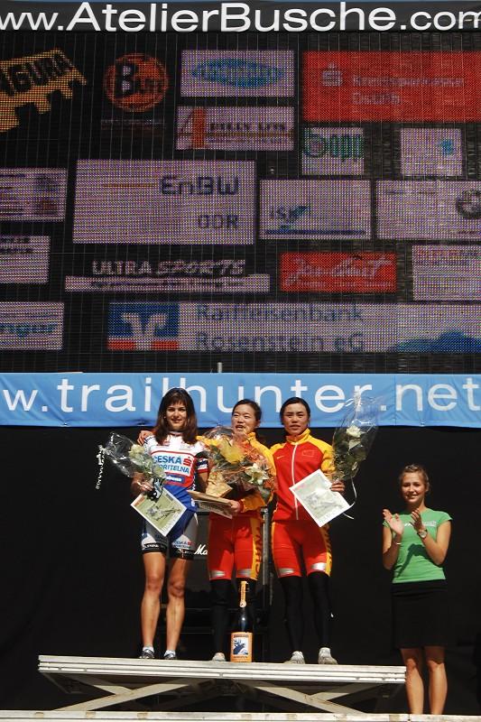 Bundesliga #3, Heubach 6.5. 2007 - Tereza Huříková 3. místo U23, Foto: Armin Küstenbrück/Bikesportnews.com