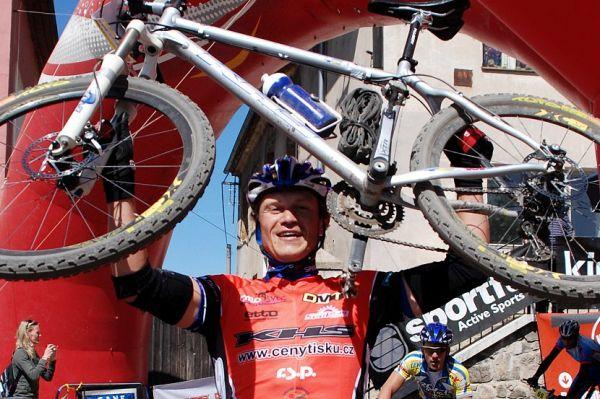 KHS MTB Posázavím 07 - vítěz Ivan Rybařík