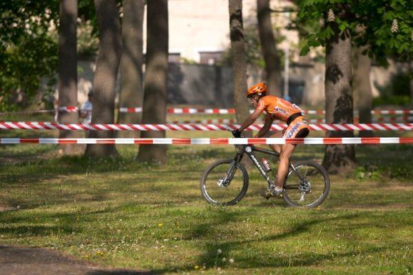 ČP XC No.1 Teplice 2007 - Václav Hlaváč kouží parkem