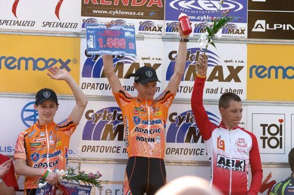 ČP XC No.1 Teplice 2007 - nejlepší kadeti