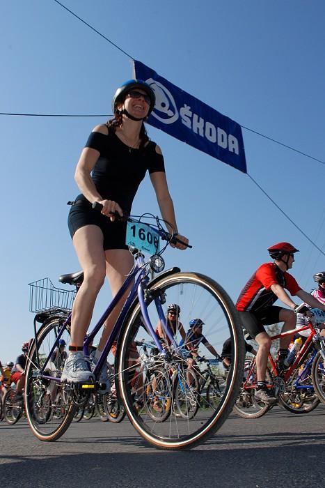Škodabike 2007 - start 30 km