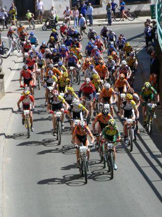 14. Aprílová osmička, 21.4.2007, Teplice nad Metují, foto: Josef Bitnar
