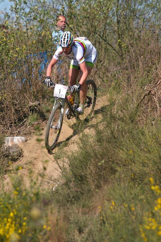 Nissan UCI MTB World Cup XC #1 Houffalize, 22.4.2007 - Gunn Rita Dahle