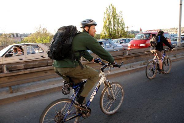 Cyklojízda Prahou 19.4.2007