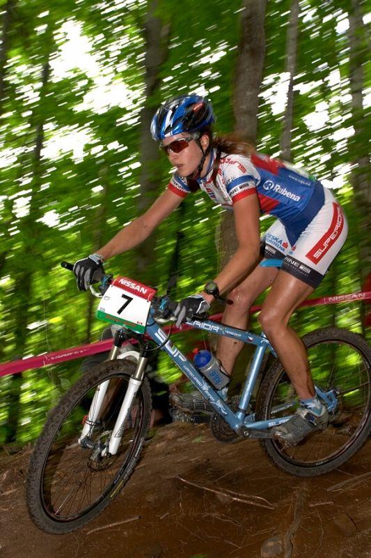 Nissan UCI MTB World Cup - Mont St. Anne, 23.6.'07 - Tereza Huříková