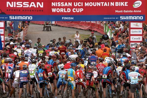 Nissan UCI MTB World Cup - Mont St. Anne, 23.6.'07 - před startem mužů
