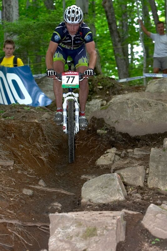 Nissan UCI MTB World Cup - Mont St. Anne, 23.6.'07 - Ji�� Friedl