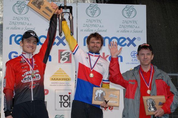 MČR Maraton 2007 - nejlepší Masters II