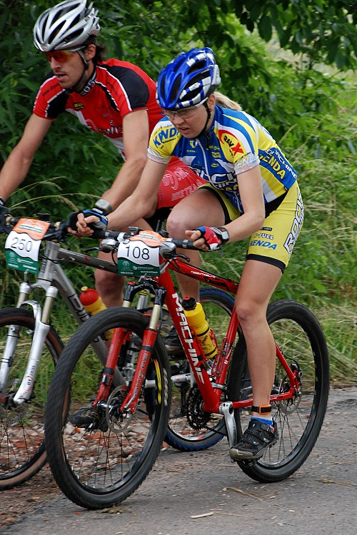 MČR Maraton 2007 - Eva Hubená