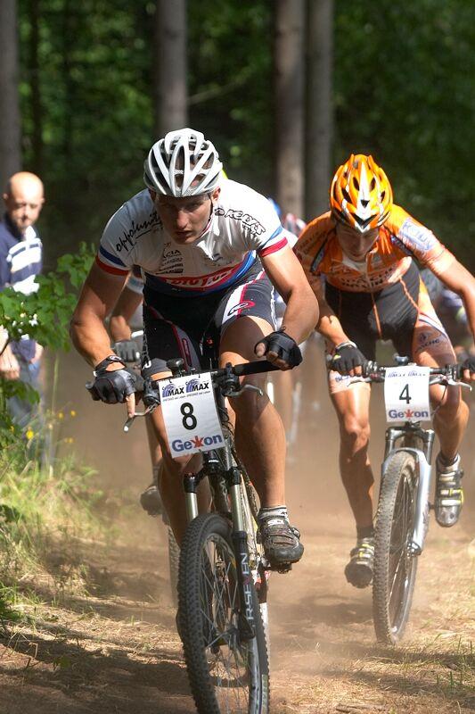 Český pohár XC - 4. závod, 16.6.'07 Velké Losiny - Pavel Boudný
