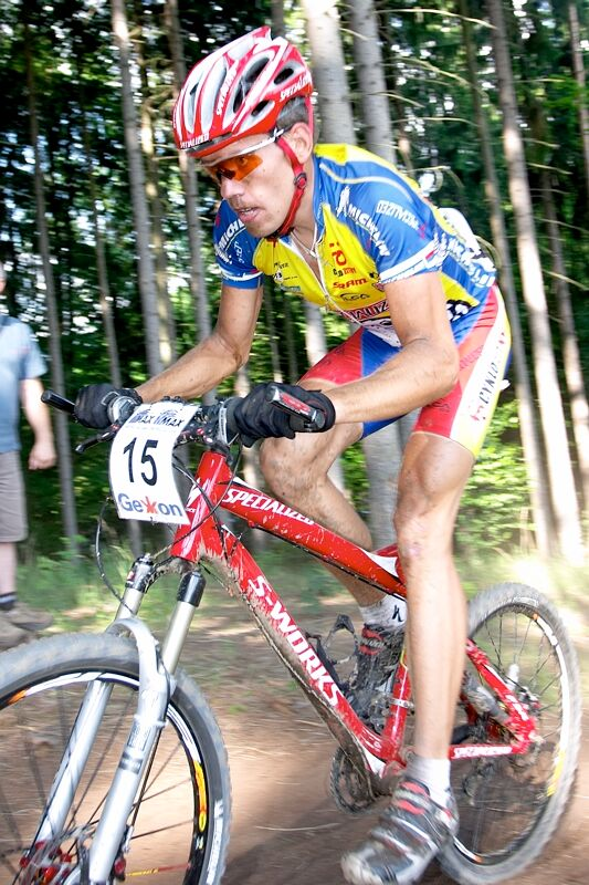 Český pohár XC - 4. závod, 16.6.'07 Velké Losiny - Tomáš Vokrouhlík