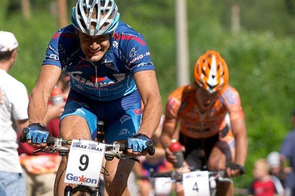 Český pohár XC - 4. závod, 16.6.'07 Velké Losiny - Václav Ježek