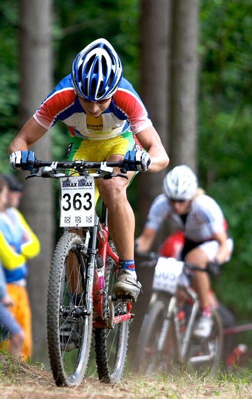 Český pohár XC - 4. závod, 16.6.'07 Velké Losiny - Peter Sagan