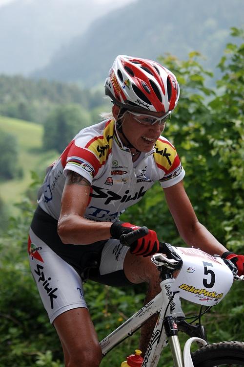 SP XC Champéry 2007 - Marga Fullana