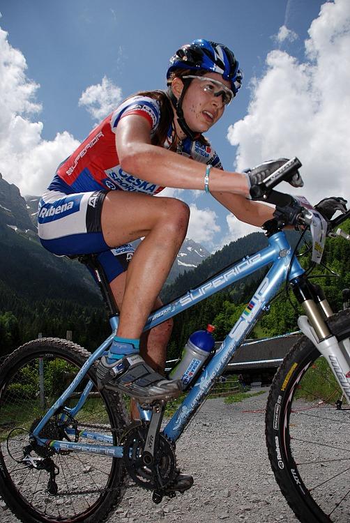 SP XC Champ�ry 2007 - Tereza Hu��kov�