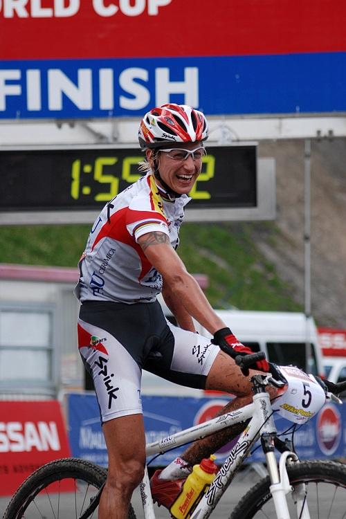 SP XC Champéry 2007 - Fullana vítězí
