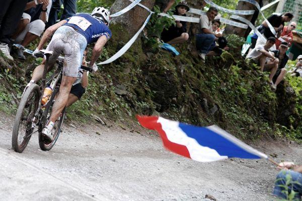 SP XC Champéry 2007 - předposlední kolo a Absalon na čele