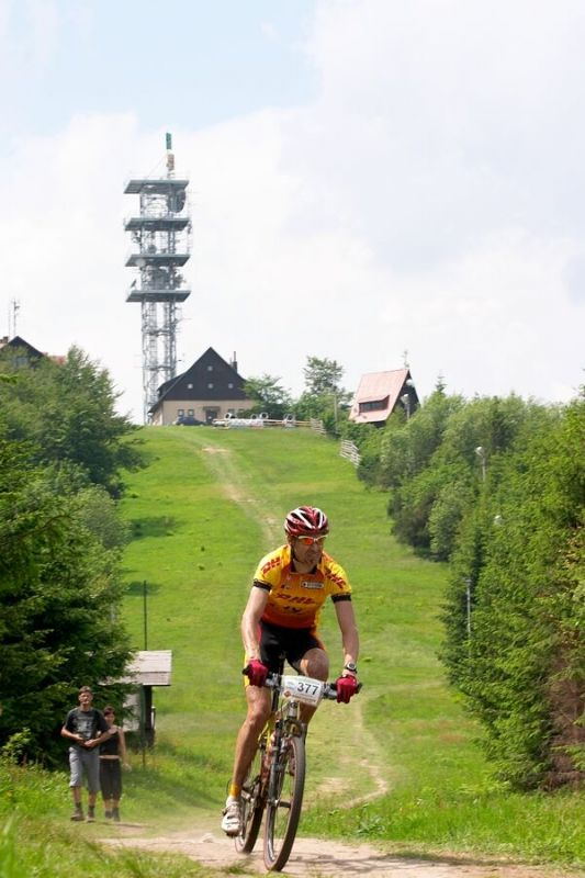 Beskidy MTB Trophy 2007 - 2. etapa 9.6. - Andrzej Kaiser