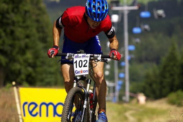 MČR XC 21.-22. '07 Zadov - Jan Martin 2. místo muži open