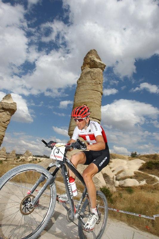 ME Cappadocia 2007 - závod mužů 15.7. - Christoph Sauser