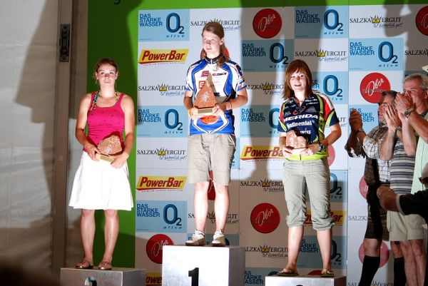 Salzkammergut Trophy 07 - Hana Je�kov� prvn� v kategorii na 23 km