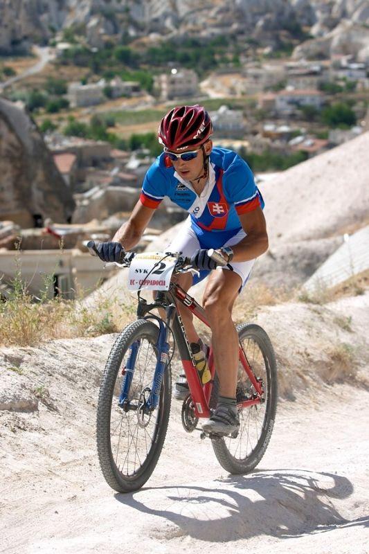 ME XC Cappadocia - Turecko 2007 - Milan B�renyi p�i z�vod� �tafet