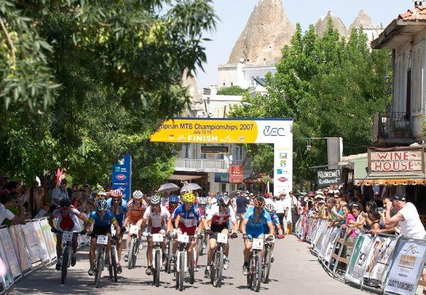 ME XC Cappadocia - Turecko 2007 - start štafet