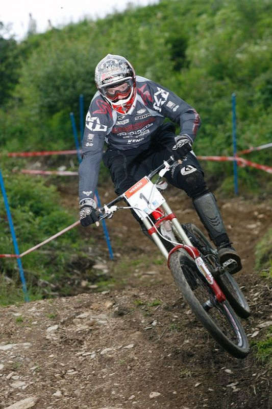 SP DH Schladming 2007 - Steve Peat