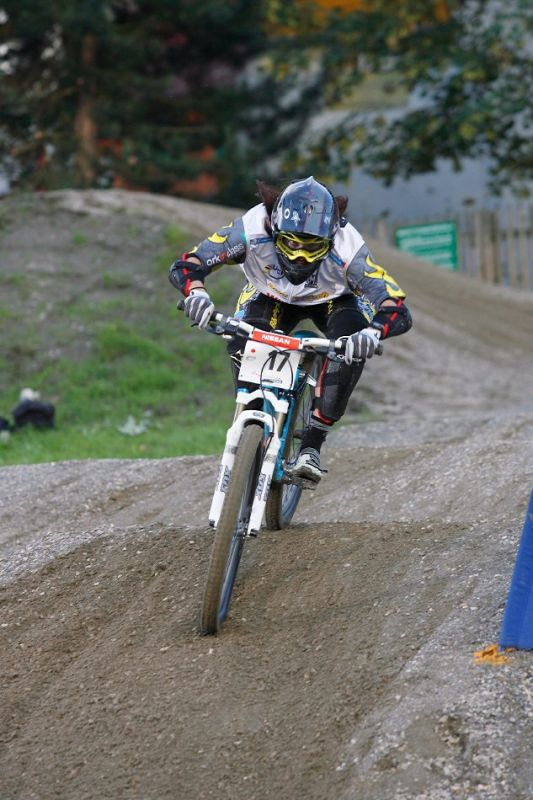 Nissan UCI 4X Cup #4 Schladming 2007 - Aneeke Beerten