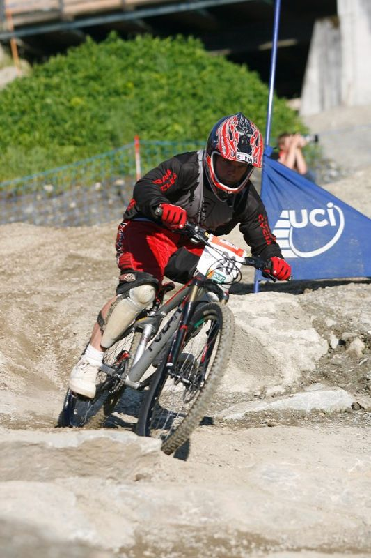 Nissan UCI 4X Cup #4 Schladming 2007 - Jakub