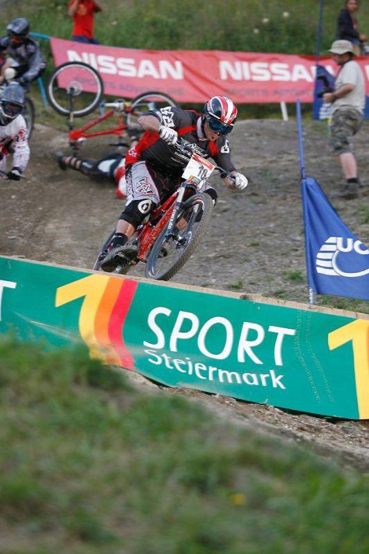 Nissan UCI 4X Cup #4 Schladming 2007 - Chriss Kovarik