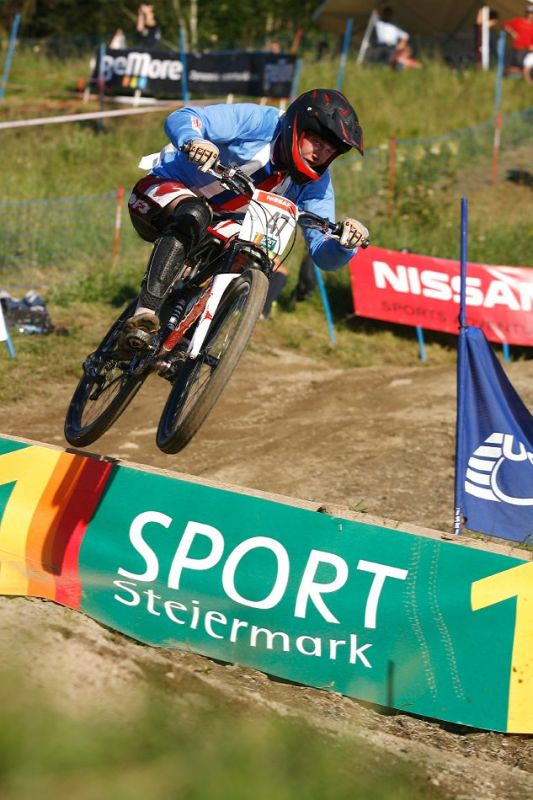 Nissan UCI 4X Cup #4 Schladming 2007 - Zden�k Na�inec