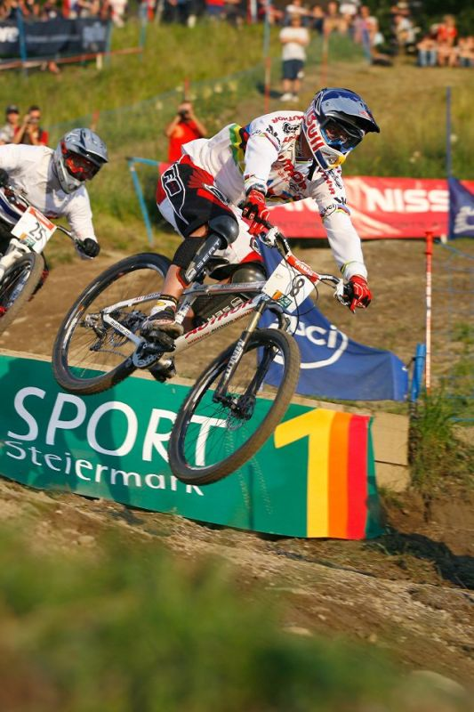 Nissan UCI 4X Cup #4 Schladming 2007 - Michal
