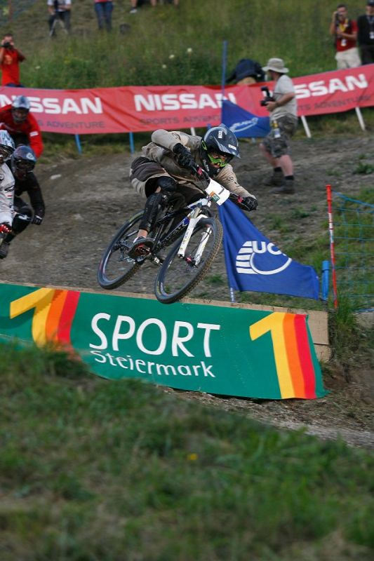 Nissan UCI 4X Cup #4 Schladming 2007 - Roger