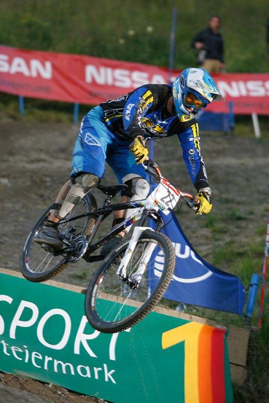 Nissan UCI 4X Cup #4 Schladming 2007 - Tom