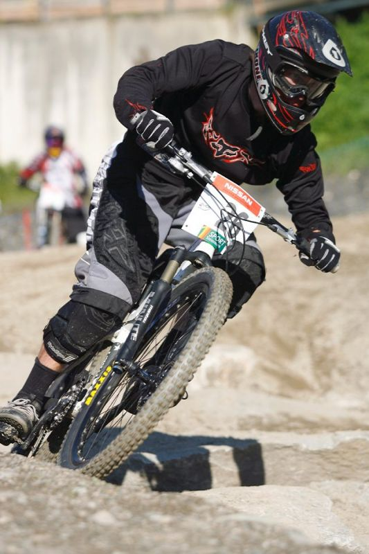 Nissan UCI 4X Cup #4 Schladming 2007 - Matej