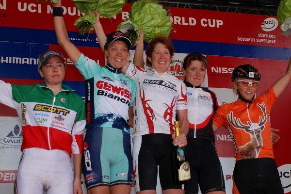 Dolomiti Superbike 07 - nejlepší ženy
