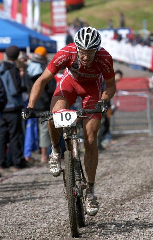 Nissan UCI MTB World Cup XC#5 - St. Félicien 1.7.'07 - Jakob Fuglsang