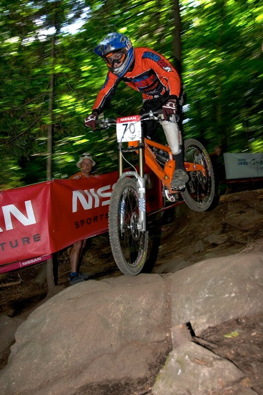 Nissan UCI MTB World Cup DH+4X #3, Mont St. Anne 24.6.'07 - Jeff Beatty